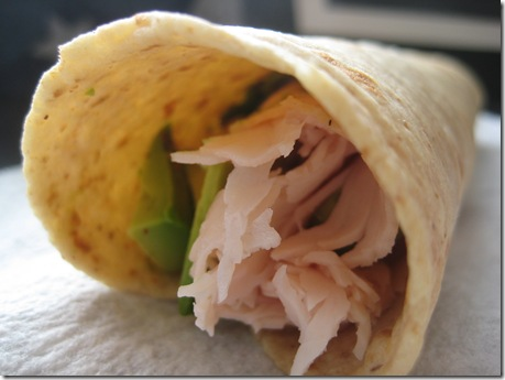 little turkey avocado wrap