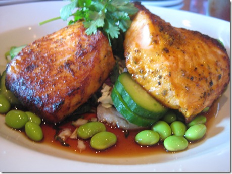 oak roasted salmon